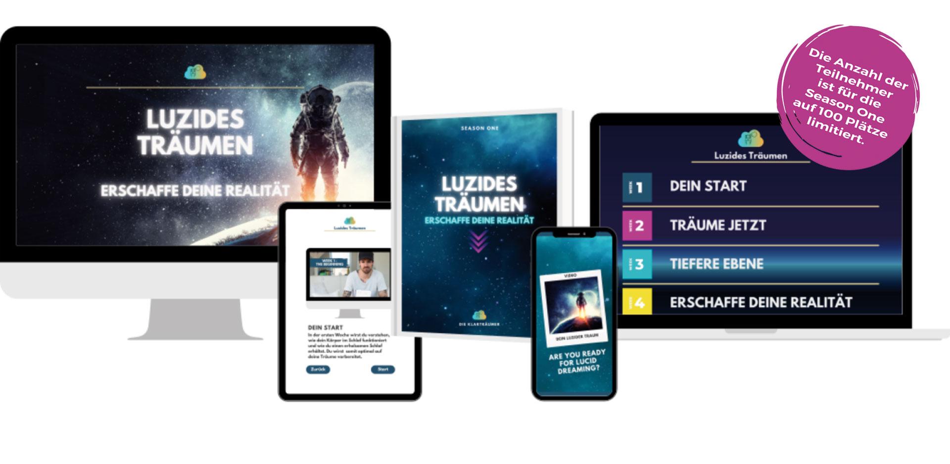 """Onlinekurs """"Luzides Träumen - Erschaffe Deine Realität"""""""
